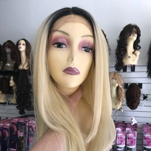 Accessories - Wig ombré long blonde lacefront hot wig swisslace